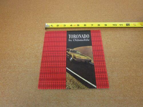 1966 Oldsmobile Toronado sales brochure 24 pg ORIGINAL literature