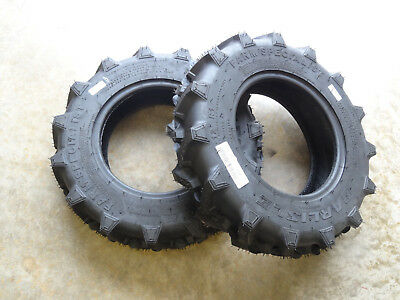 Two 6-12 Carlisle Farm Specialist R-1 6 Ply Tires Made For 4wd Compact Tractors