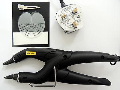 Extensión De Pelo Bond Aplicación Fusión Caliente Calor Plancha Conector+