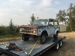 1976 Ford Bronco - trades or cash...