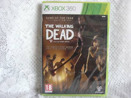 The Walking Dead GOTY Edition Xbox 360 NEW & SEALED Booval Ipswich City Preview