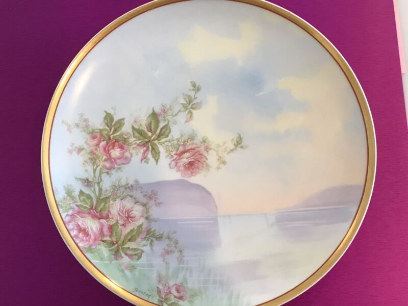 Haviland & Co LIMOGES France ~ Hand Painted Porcelain early 1900