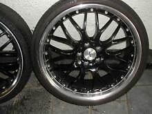 20 INCH FORD AU TO FG ALLOYS WITH AS NEW TYRES Adelaide CBD Adelaide City Preview