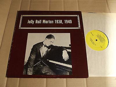 JELLY ROLL MORTON - 1938, 1940 - LP - ALMANAC JAZZ KINGS QSR 2424 - USA