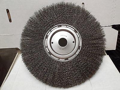 12 Wire Brush Rotary Wheel 12 Inch Model Nsn5130-00-293-0265