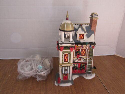Dept. 56 A Christmas Story 2005 Fire House Please Read NO BOX