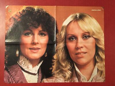 HITKRANT ABBA poster Agentha en Frida Dick Cavett - Abba Outfits