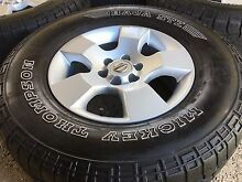 Nissan navara D40 wheels mickey t A/T tyres Clontarf Redcliffe Area Preview