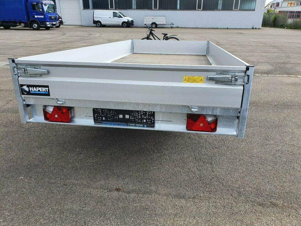 HAPERT Hochlader Anhänger Azure H-2  3,0 to   405x200x30 Rampen in Senden