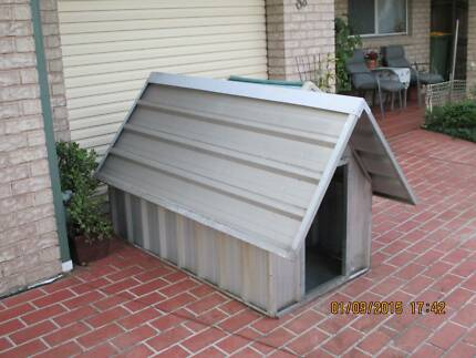 Metal dog house only. Woy Woy Gosford Area Preview
