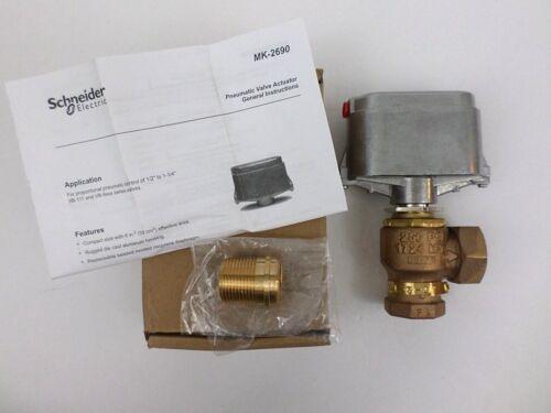 Schneider Electric VK-7211-201-3-7 1in NPT x Union Globe Valve 2-Way NOS OPEN**