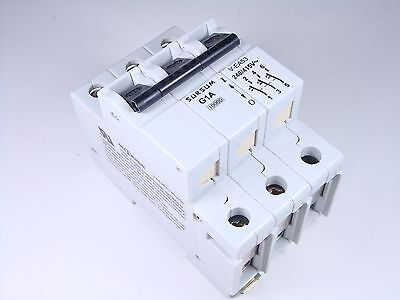 15.061u Altech Abl Sursum Circuit Breaker 1a 3 Pole 240415v 3g1.0u V-ea53 G1a