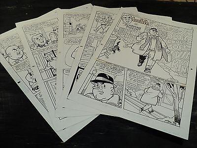 Original Art Story (Archie 433) 5 Pages COMPLETE! STAN GOLDBERG 1995 ART#426