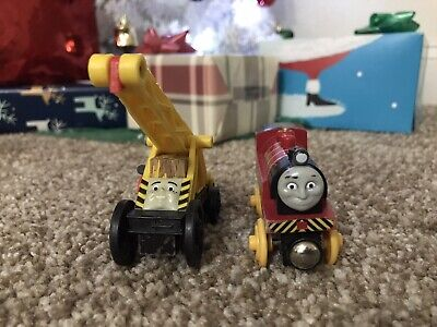 Thomas Wooden Railway Steamworks Set: Victor And Kevin