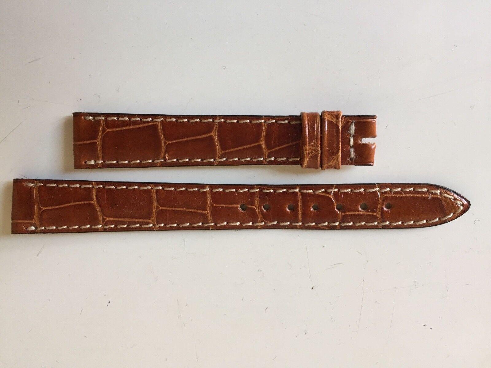 Jaeger-LeCoultre Reverso Uhrenarmband Krokodilleder Braun 14/12 mm