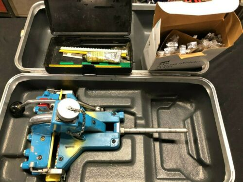 Cable Splicing 3m  Style 710 Hydra presser Cutter Presser, and Case