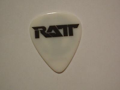 RATT Logo Keri Kelli Old Concert Tour RaRe GUITAR PICK 80's Hair Metal Glam Band