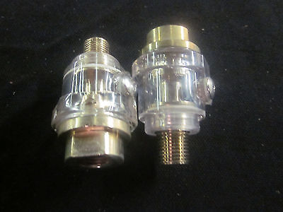 2 Ctt Zinc-alloy Mini 14 Npt Mini Air Line Oiler Lubricates Air Tool