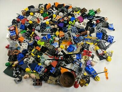 1/2 Lb of Assorted LEGO Minifigures / Minifigs & Accessories - LOT star wars 649