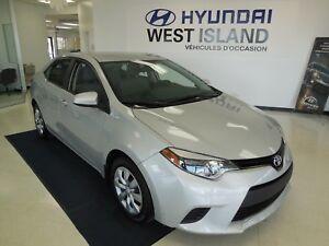2014 Toyota Corolla LE 1.8L CAM RECUL 66$/semaine