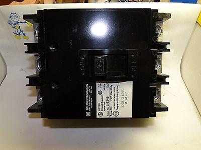 Sq-d 125 Amp Q2l3125 Three Pole Circuit Breaker New In Box