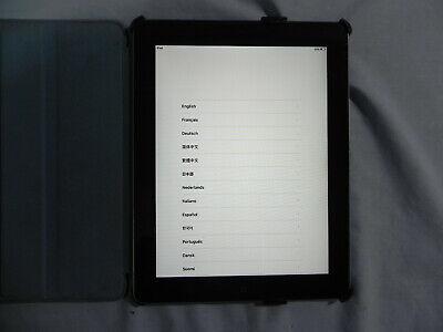 Apple iPad 2 tablet, iOS 9, 32GB, DMPGC653DFHY