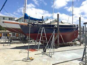 Classic Timber Yacht Colin Archer Atkins Thistle Melbourne CBD Melbourne City Preview