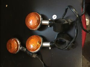 Rear lights off a 2002 Yamaha Vstar 1100 custom