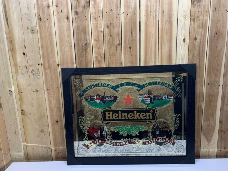 Heineken Beer Mirror Amsterdam Rotterdam Bier New