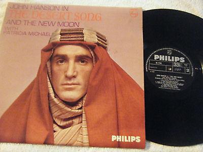 JOHN HANSON Desert Song & New Moon 1967 UK Philips BL 7799 Mono EX+