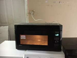 "Panasonic High Quality Over rand microwave 30""w"