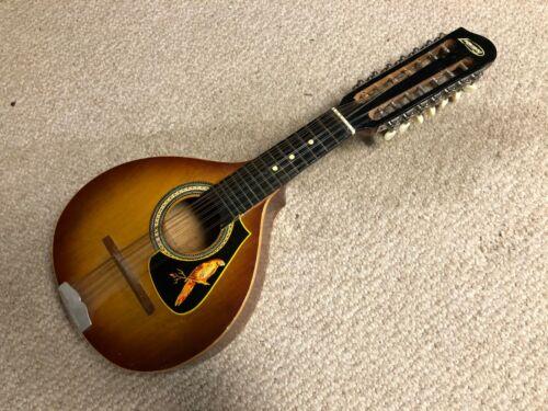 Vintage Ignacia Lumanog Bandurria 14-String Mandolin