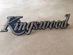 Kingswood emblem from 1978HZ Maroochydore Maroochydore Area Preview