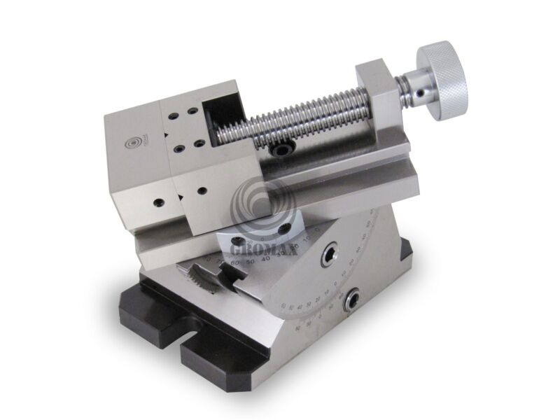 Angle Plate Milling Vise Universal With 360 Degree Swivel : Gtv-2000