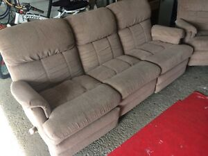 Elran reclining couch and chair