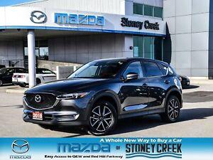 2018 Mazda CX-5 GT Nav Leather Heated Seats Bose Rear Cam