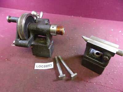 Brown Sharpe Rotary Index Tailstock Dividing Head Loc8853