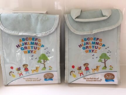 2 thermos lunch box bags