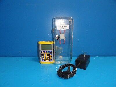 Hospira Gemstar Infusion Pump Yellow Cap W P389 Lock Box  Adapter 15682