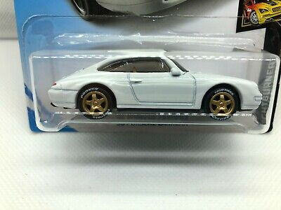Hot Wheels '96 Porsche Carrera White - SUPER CUSTOM with Toyo Tires