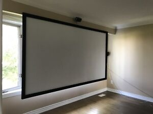 """120"""" screen and benq ht1075 1080p"""