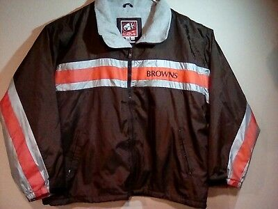 Cleveland Browns Mens Winter Jacket, G-III Carl Banks, Nylon Size XXL