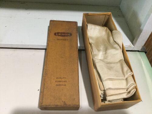 Vintage Lenox Hosiery Socks in Box Rare find