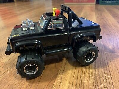 Vintage Black & Gold Playskool Monster Truck Works High Grade Bigfoot 4X4