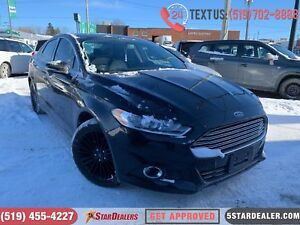 2016 Ford Fusion SE | NAV | LEATHER | ROOF | CAM | AWD