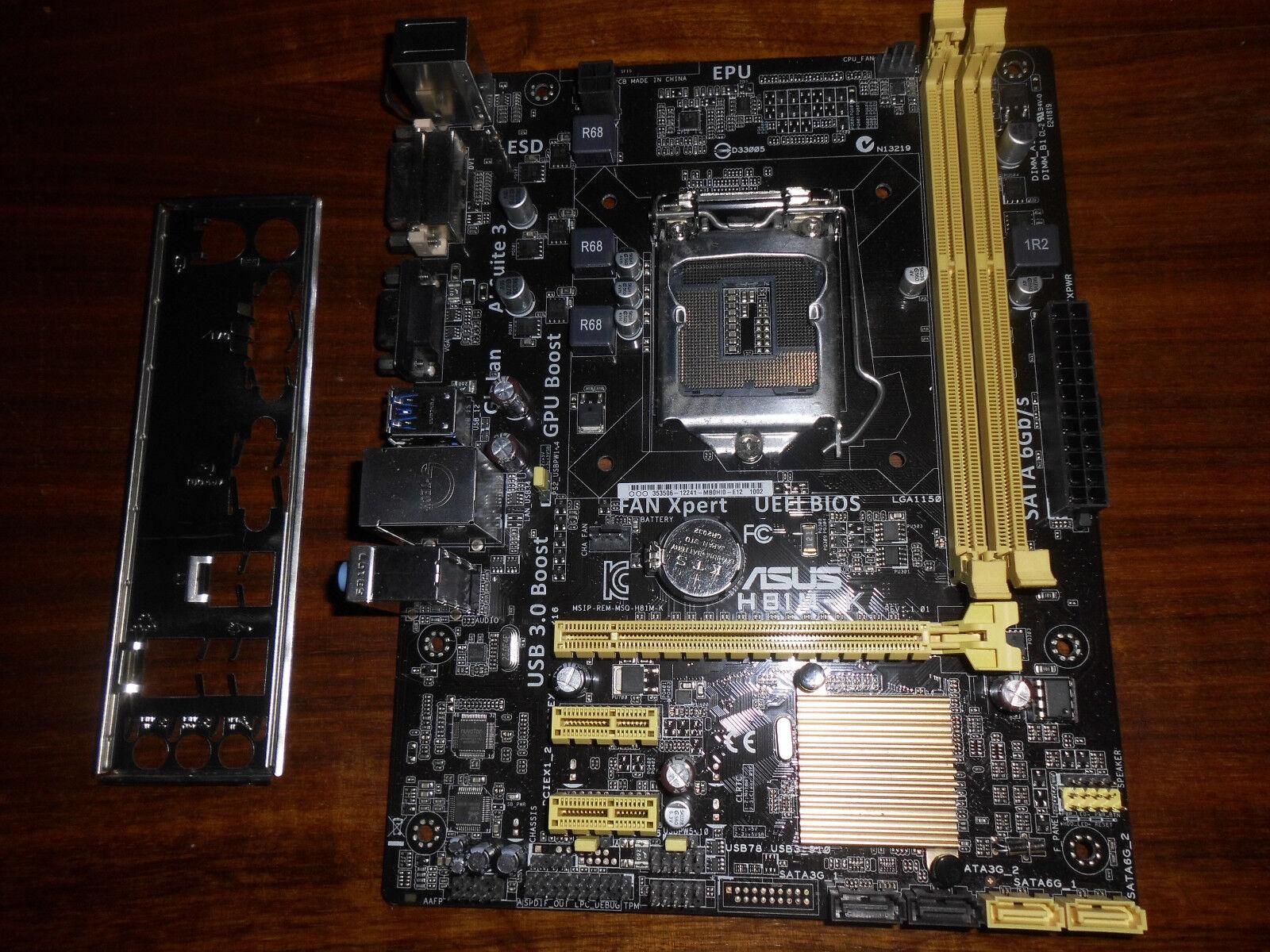 ASUS H81M-K - Mainboard - Intel LGA Socket 1150