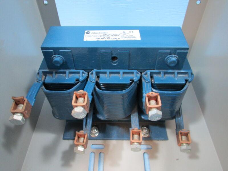Allen Bradley 1321-3RA100-B AC Line Reactor 13213RB100B 3 Phase 100 Amps 150A AB