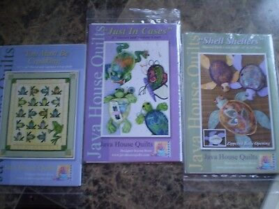 You Must be Croaking - Pattern from Java House Quilts