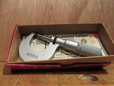 Machinist Lathe Mill Machinist Starrett 230 M Micrometer Gage Gauge