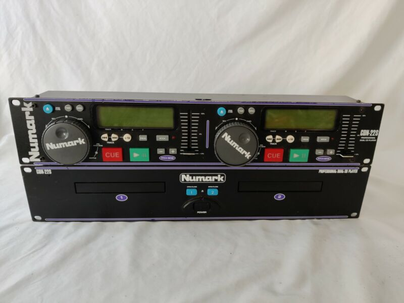 Numark CDN-22S Professional Dual CD Player,Controller- Untested&Parts only